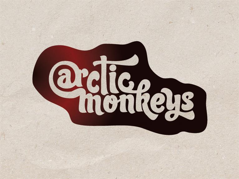 Logo design Arctic Monkeys