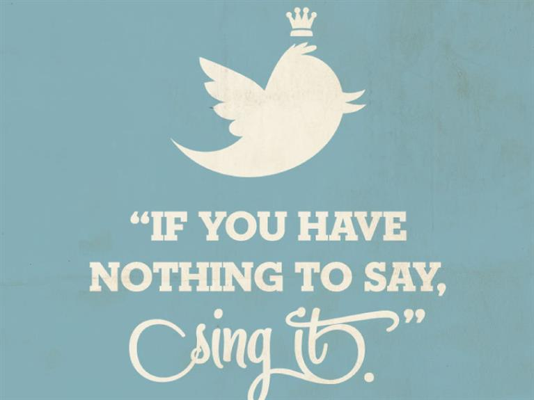 Affiche If You Have Nothing To Say, Sing It