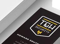 Logo/huisstijl T&H Security