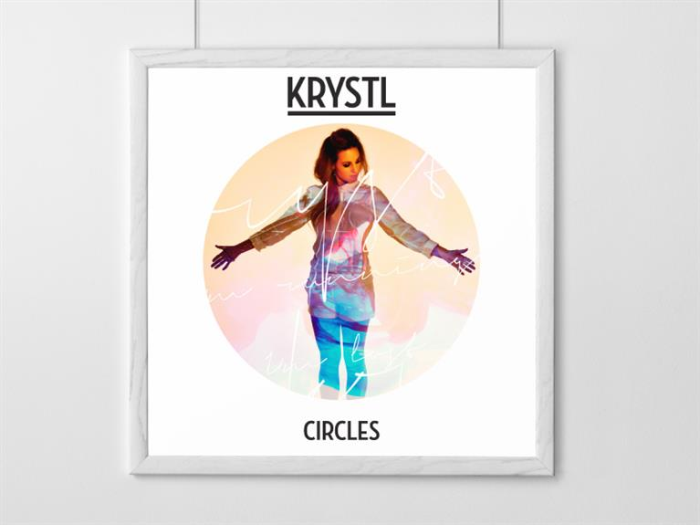 Krystl - Circles artwork design