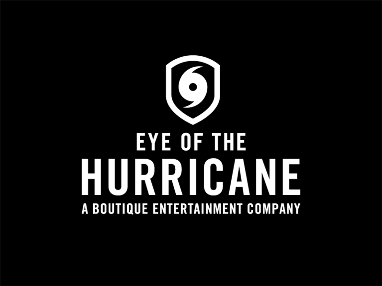 Visuele identiteit & logo ontwerp Eye of the Hurricane