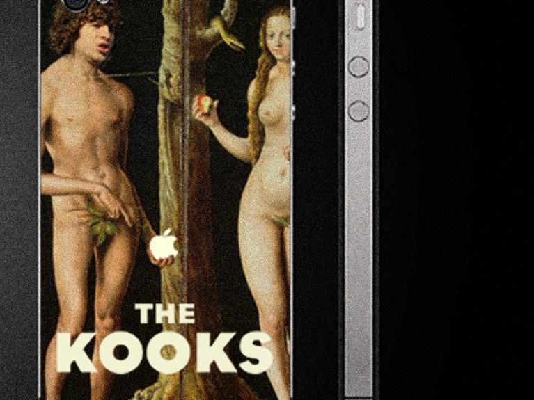 Artwork design The Kooks