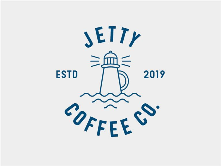 Logo ontwerp Jetty Coffee Company