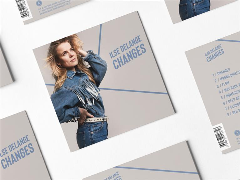 CD cover ontwerp Ilse DeLange Changes